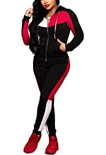 Red Black Sweatsuit