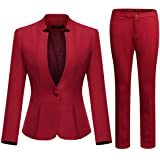Two Piece Blazer Pant Outfit