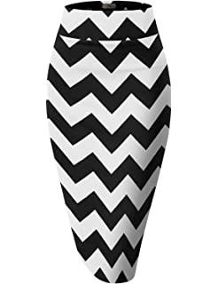 Zig Zag Pencil Skirt
